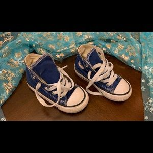 Converse All Star Hi top infant size 7
